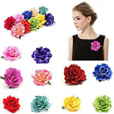 1X Artificial Rose Flower Head Photography Props Party Wedding Home Decor DIY #B