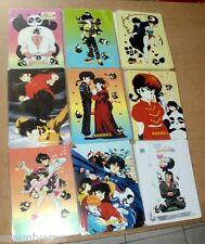 SET CARDS MOUSE PAD ANIME/MANGA-RANMA,AKANE,PCHAN,RYOGA,PANDA,GENMA,KUNO,KODACHI