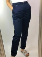M&S Marks Spencer Per Una Womens Ladies Navy or Stone Chino Trousers