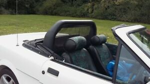 Wind Deflector material charcoal Convertible Cars 1.2M Wide sold by the Metre
