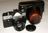 VERY RARE Zenit-15 USSR SOVIET SLR FILM 35 mm CAMERA HELIOS-44M 2/58 Carl Zeiss
