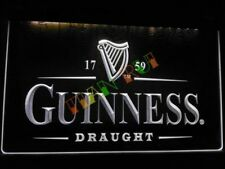 Guinness LED Neon Bar Sign Home Light up movie Pub Bud Beer Lager mancave irish