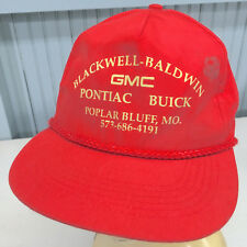 Blackwell Baldwin GMC Dealership Snapback Baseball Cap Hat