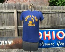 New listing Vintage 80s school chorus T-shirt Apopka Jr High