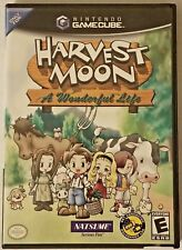 Harvest Moon: A Wonderful Life (Nintendo GameCube, 2004) GUARANTEED - Ships Free