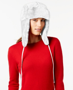 Nine West Faux Fur Trooper, Off-White, Retail $46.00