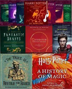 mp3 Audiobooks Collector Edition Harry Potter 14 Titles Bonus 16Gb USB stick