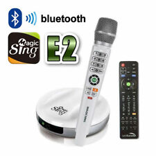 NEW Magic Sing E2 WiFi streaming Wireless Karaoke Mic FREE 12000 ENGLISH songs