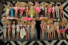 Lot of 29 Vintage Mattel Barbie & Ken Dolls 1966/1976/1980/1982/1988 60s 70s 80s