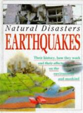 Earthquakes (Natural Disasters), JANE WALKER, Used; Good Book