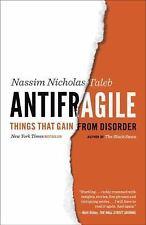 Antifragile: Things That Gain from Disorder by Nassim Nicholas Taleb Paperback B