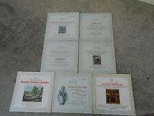 J.S. BACH-7 LP'S-VINYL-CANTATA-CHORAL-KARL RICHTER-IMP-GERMANY-1ST ED-ARCHIV-NM