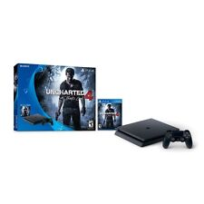Brand New Sony PlayStation 4 Slim Uncharted 4 Bundle 500GB Console