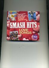 SMASH HITS LOVE SONGS - SIMPLY RED KATE BUSH SPANDAU BALLET A-HA - 3 CDS - NEW!!