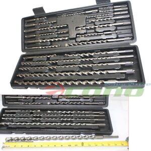 20 PC SDS Plus Rotary Hammer Drill Bits Set fit Hilti Bosch DeWalt & Milwaukee