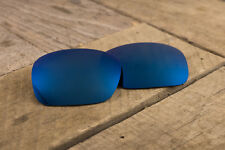 Cobalt Navy Blue Polarized Mirror Lenses for Oakley Jupiter Squared - Dark Tint