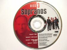 THE SOPRANOS First Season 1 *DISC #3 ONLY*