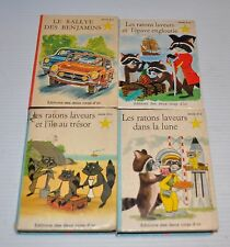 - lot of 4 French Children Books ALAIN GREE Deux Coqs d'Or 1960s -