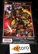 COMIC XMEN X-MEN LA PATRULLA X nº 34 PANINI NUEVO Marvel NEW en Español CAREY