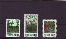 POLAND - SG2047-2049 MNH 1971 FORESTRY MANAGEMENT