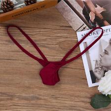 Sexy Mens Open Back Jockstrap Bikini Briefs Gay Pouch G-string Thong Underwear L