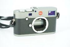 Leica M-E  (Typ 240) silber  anthrazit lackiert Rechnung 2019 Gewährleistung