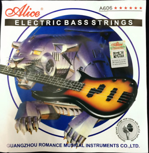 Alice A606(6)-M 6 String Electric Bass Strings 6 Steel Stings Set (1st - 6th)