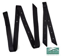 Cinch Tie Strap and Off Billet Set Double Nylon Black Premium by Partrade New