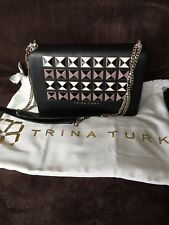 Trina Turk Molokai Leather Flap Shoulder Bag