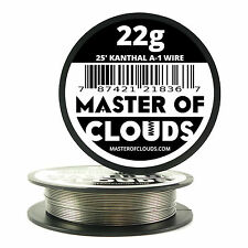 25 ft - 22 Gauge AWG A1 Kanthal Round Wire 0.64mm Resistance A-1 22g GA 25'