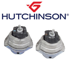 OEM Engine Motor Mount Hydraulic Set 2pcs Hutchinson BMW 525i 528i 530i 535i