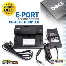 DELL OEM Latitude E4200 E4300 E6400 E6500 PR03X E-Port Replicator + 130W Adapter