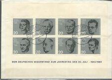 Bundesrepublik Block 3 auf Brief echt gelaufen ME 75 (708452)