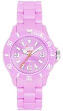 Ice-Watch Classic Pastel Purple Dial Plastic Link Bracelet
