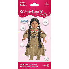 American Girl Crafts - Kaya Bubble Stickers 6 Pieces