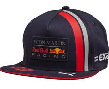 Puma Aston Martin Red Bull F1 Ajustable Sombrero Ala Plana Snapback Cap Azul Marino