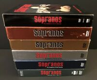 HBO DVD Sopranos Seasons 1-5 Box Sets & 6 part 1 - James Gandolfini David Chase