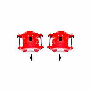 Power Stop Front Red Calipers w/o Brackets for 78-85 Avanti II