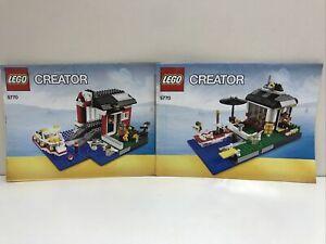 LEGO CREATOR | 5770 | LIGHTHOUSE ISLAND INSTRUCTION MANUALS ONLY