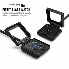 Fitbit BLAZE USB Charger Cable Wire Cord Cradle Dock Smart Watch NEW