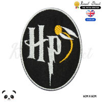 Harry Potter Quiddich Embroidered Iron On Sew On Patch Badge For Clothes etc