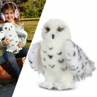 "Wizard Snowy Owl Plush Toy 8""-12'' Soft Stuffed Vivid Realistic Animal Xmas Gift"