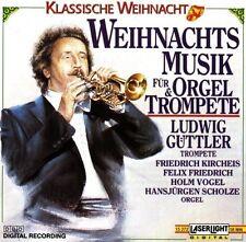 Ludwig Güttler Weihnachtsmusik für Orgel & Trompete (Laserlight, 1990) [CD]