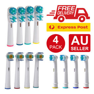4x Electric Toothbrush Replacement Heads for SB-17A / SB-417A / EB-18A