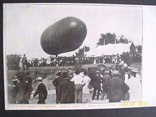 Postcard - Air Ship Ready to Ascend - Pub Des Moines, Iowa- Printed Photo