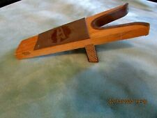 BOOT JACK, CONSTRUCTED OF PINE & HARD RUBBER WHERE BOOT MEETS THE JACK, NICE
