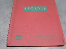 Ancien catalogue Stokvis outillage mécanique carbures