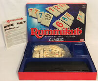 Rummikub Classic Board Game Ideal 2014 100% Complete