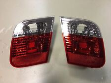 Pair Set BMW 3 (E46) 2001-2005 Sedan Saloon Rear Inner Tail Lights Left Right