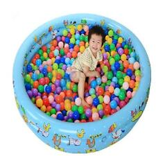 100 Pcs 5.5cm Soft Plastic Colorful Ocean Ball Baby Kids Fun Toy Swim Pit Game
